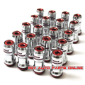 44mm Volk Rays Racing Wheel Color Lug Nuts Locking Nuts