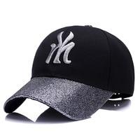 KUYOMENS Cotton Embroidery Letter Baseball Cap Men Snapback Cap Hat Women Sports Baseball Caps Bone Outdoor Hat gorras Custom
