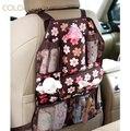COLORLAND 54x37 см Детское Автокресло мешок Обратно висит сумки Организатор Держатель ткани карман изолированная бутылка Хранения пеленки сумки