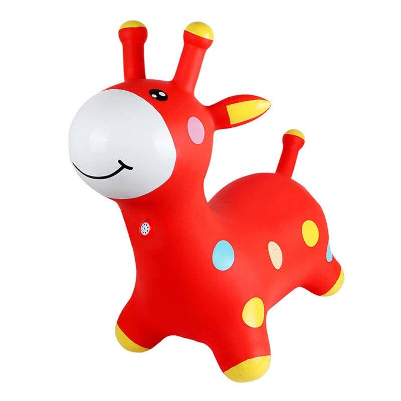 Enfants jouets gonflables animaux cheval saut cerf gonflable saut enfants gonflables para brincar hinchable salto opblaas dieren