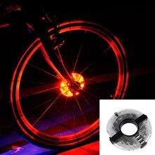 Leadbike 2016 New Bicycle Cycling Hubs Light Bike Front/Tail Light Led Spoke Wheel Warning Light Waterproof Bike Accessories