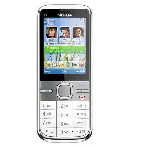 C5 Nokia C5-00 Original Unlocked mobile phone 3MP/5MP Camera 3G GPS Bluetooth FM C5-00 cell phone Cheap Phone Frees hipping Lahore