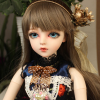 BJD 1/3ball jointed Doll gifts for girl Handpainted makeup fullset Lolita/princess doll with clothes MAUD
