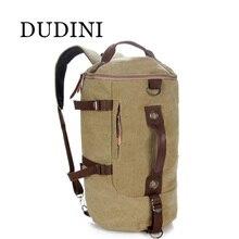 DUDINI Vintage Classic Canvas Bagpack Backpacks Women Men Travel Big Capacity Bag Pack Korean Designer Backbag