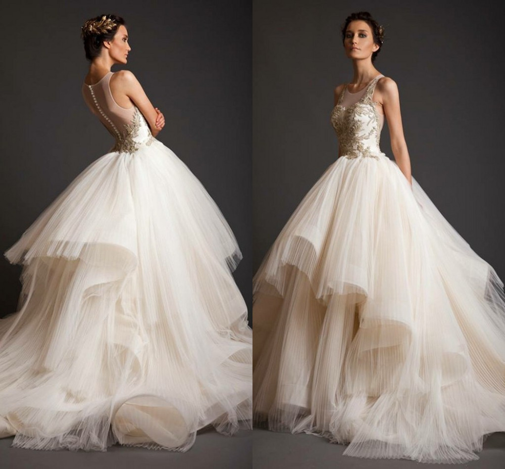 Latest design of wedding gown online shopping-the world largest ...