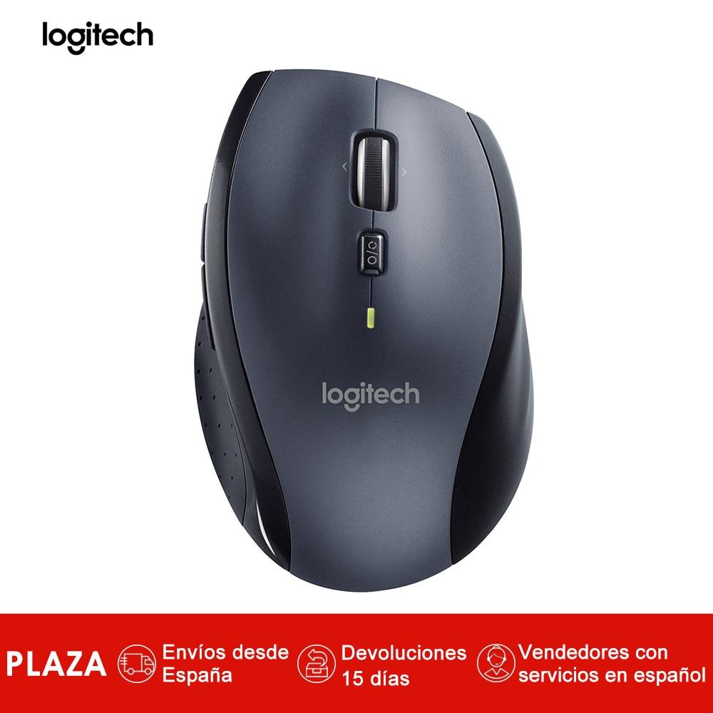Souris sans fil Logitech M705 pour Windows, Mac, Chrome pour ordinateur portable et ordinateur, RF Wireless, 1000 DPI, 135 g-negro