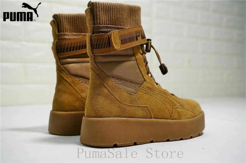 ... 2018 Puma x Fenty By Rihanna Women Scuba Boot Retro Women Shoes Durable  Sneaker Badminton Shoes ... 9d152447f