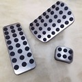 3pcs DIY Foot Pedal Cover For Mercedes Benz W176 W245 W246 W251 W164 ML X164 GL