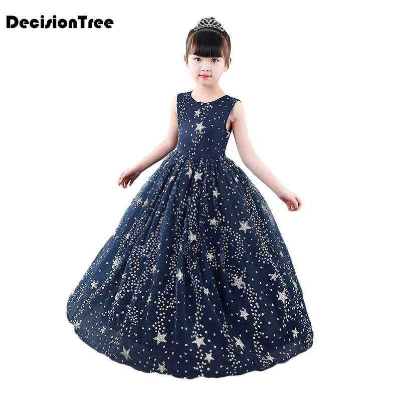 4ebd9ef49 Detail Feedback Questions about 2019 new star print girl long dress ...