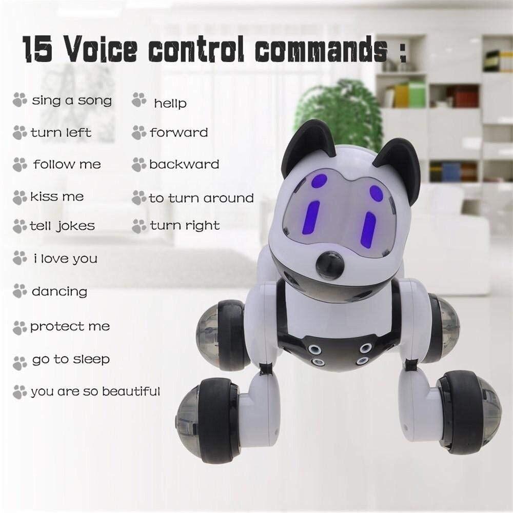 Youdi commande vocale chien et chat Robot intelligent électronique pour animaux de compagnie programme interactif danse marche Robot jouet Animal geste suivant - 2