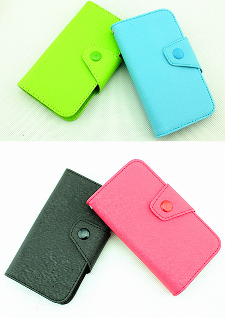 Fancy PU Leather Wallet Case Cover With Magnetic flap closure Diary for Samsung Galaxy S 2 II i9100 Smart Mobile Phones