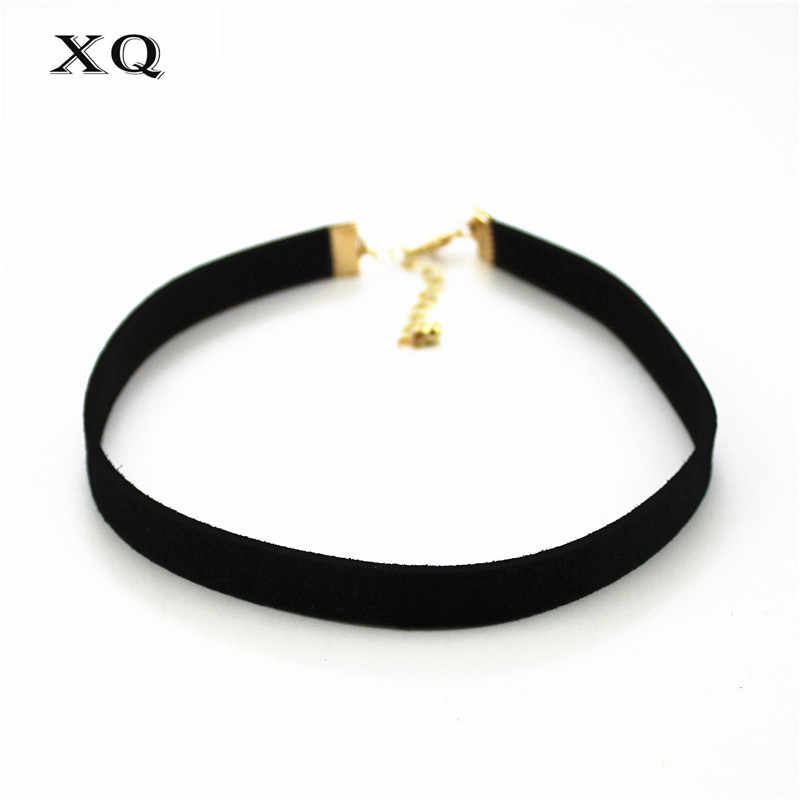 2pcs Free shipping The new fashion Neck width collar card clavicle necklace chocker velvet belt Women's Accessories