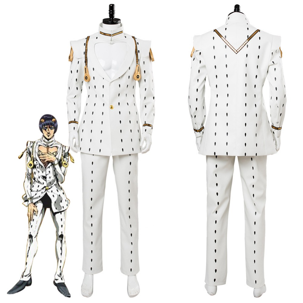 JoJo's Bizarre Adventure: Golden Wind Bruno Bucciarati Cosplay Costume Suit Halloween Carnival Costumes Full Set Custom Made