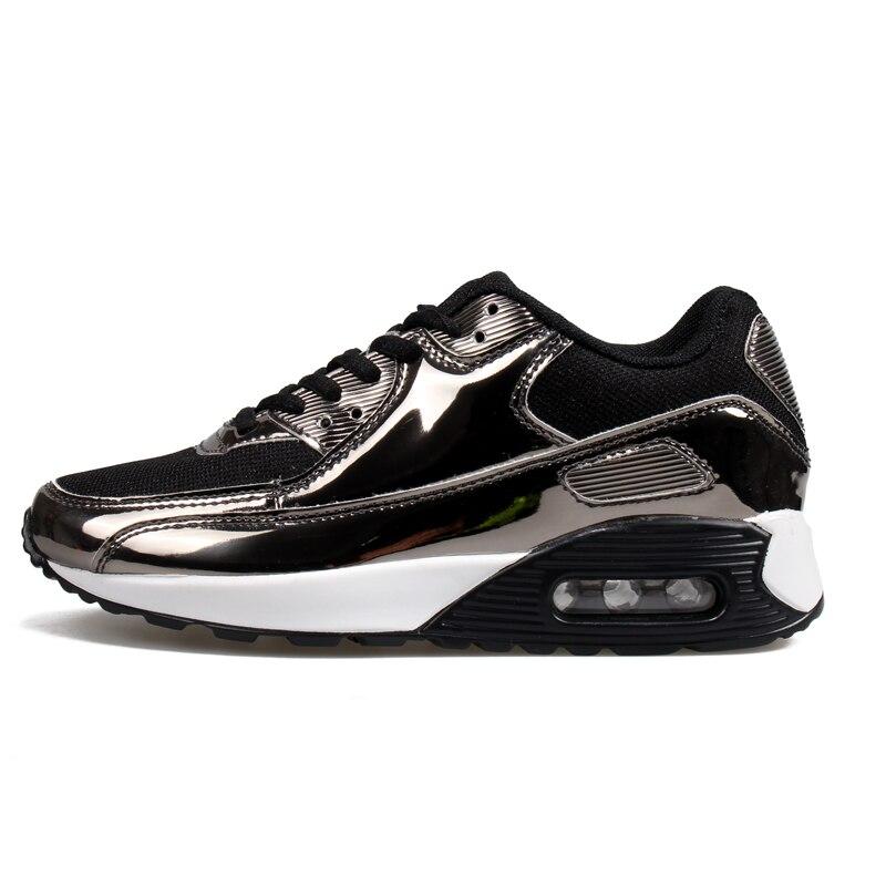 2018 брендовые новые Демисезонный кроссовки для наружного удобная сетчатая Для женщин кроссовки Для мужчин дышащая Спортивная обувь размеры...