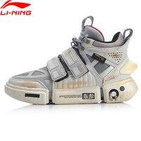 Li Ning FW Мужская эссенция ACE + Wade Культовая обувь кошелек из натуральной кожи подкладка Спортивная обувь Кроссовки AGWP027 XYL243