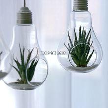 1x limpar planta pendurado vaso de vidro flores planta vaso terrário recipiente casa jardim bola decorações