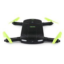 DHD D5 Selfie Drone with Wifi FPV HD Camera and Foldable Pocket