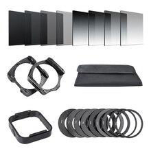 Камера Filtro градуированная нейтральная плотность градиентная ND квадратная Смола фильтр-Адаптер кольца держатель для Cokin P серии системы для DSLR