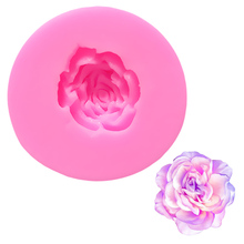 DANMIAONUO Mini Rose Flower Tools Cake Decoration Moule Silicone Fimo Stencils For Cakes Lollipop Baking Mold Candy A140694