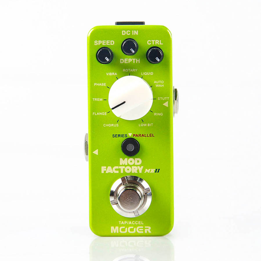 MOOER The Mod Factory Modulation guitar effect Pedal Collected 11 kinds of classic modulation effect effect of fruits of opuntia ficus indica on hemolytic anemia