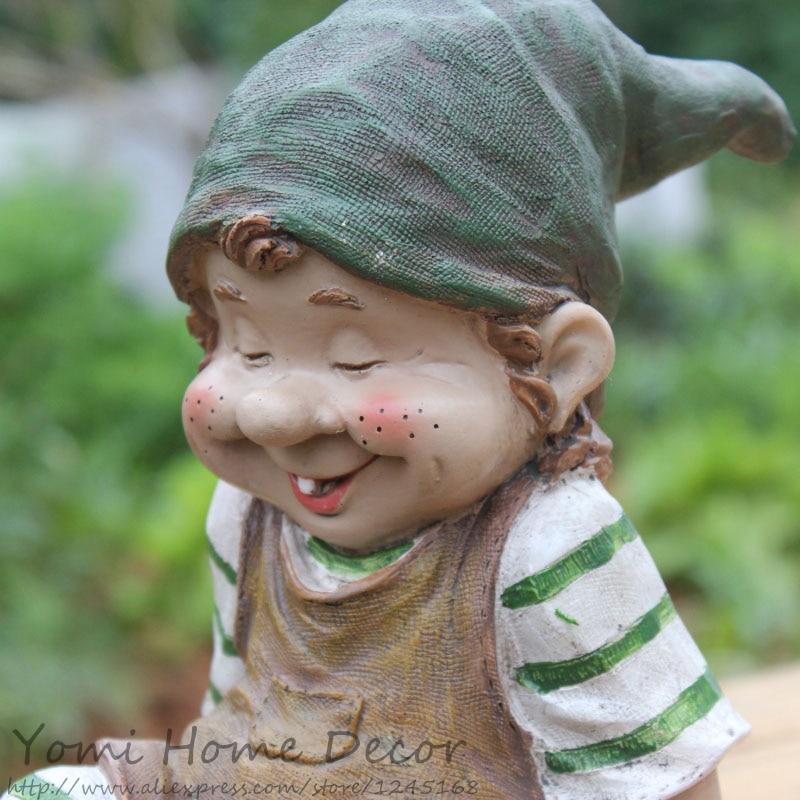 Garden Gnome Statue Dwarves Grumpy Figurines Lawn Yard Art Ornament Resin Outdoor Statue Decorative Home Garden Decor Ornament On Aliexpress Com Alibaba