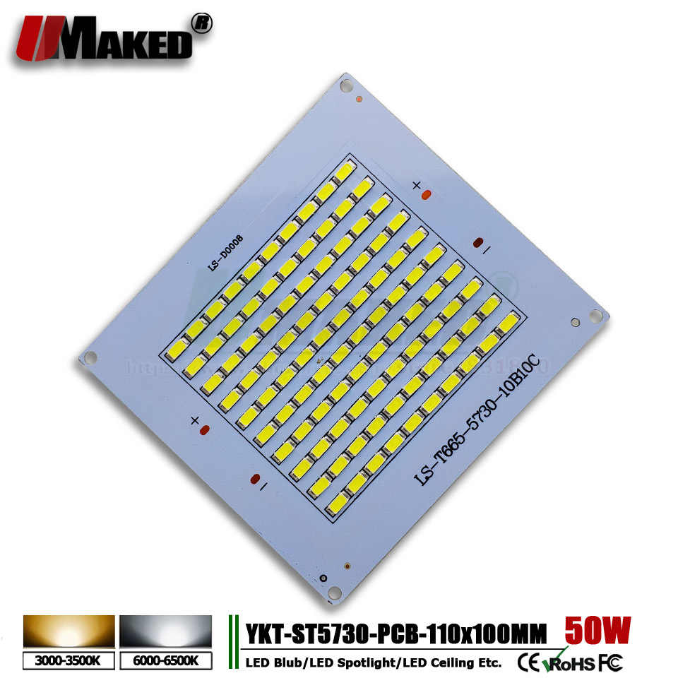 5 Pcs LED LED Lampu Sorot PCB Piring 10 W 20 W 30 W 50 W 100 W 150 W 200 W SMD5730 Sumber Cahaya Panel untuk Outdoor Lampu Spot Gratis Pengiriman