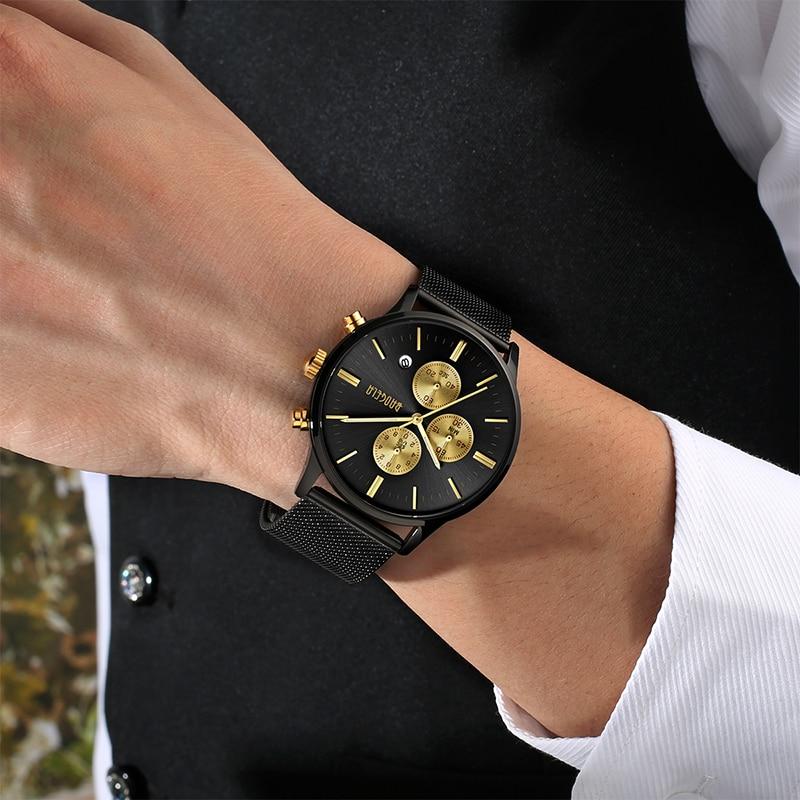 BAOGELA Χρονογράφος Νέο ρολόι χαλαζία - Ανδρικά ρολόγια - Φωτογραφία 5