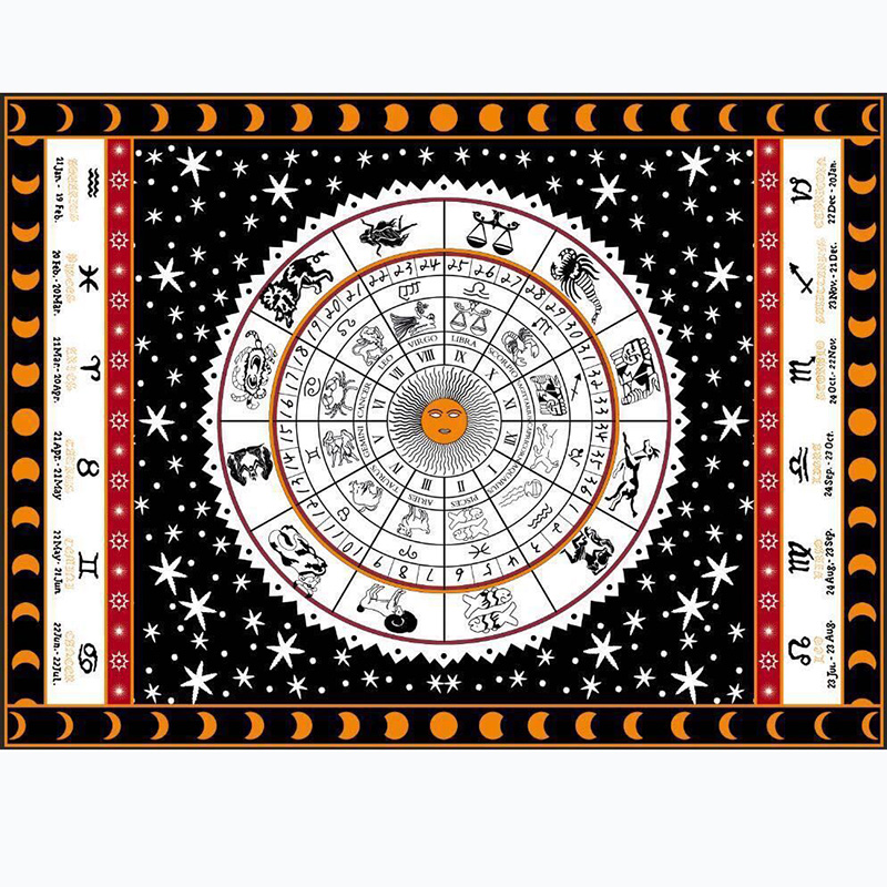 3 Kinds Tarot Tablecloth Aspect Astrology Sofa Cover Carpet Otsuge 150*200cm Beautiful Pattern Game Tarot Board Game Accessorie