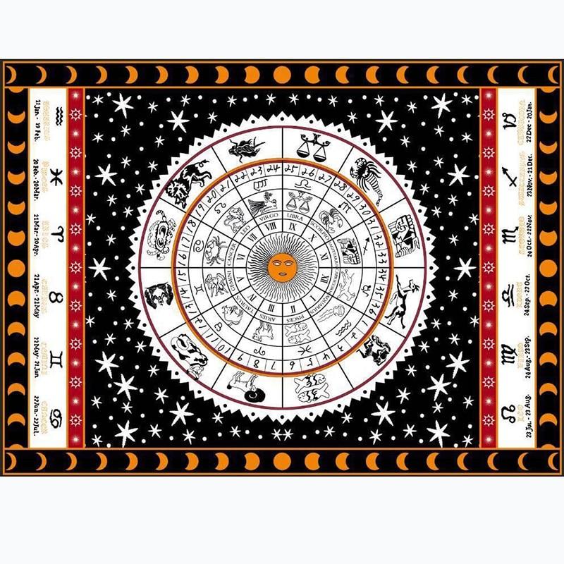 3 Kinds Tarot Tablecloth Aspect Astrology Sofa Cover Carpet Otsuge 150*200cm Beautiful Pattern Game Tarot Board Game Accessorie