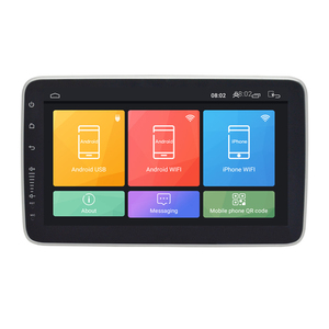 "Image 3 - Universele 1DIN 9 ""Android 8.1 Draaibaar Touchscreen Quad Core Ram 2Gb Rom + 32Gb Gps wifi Spiegel Link"