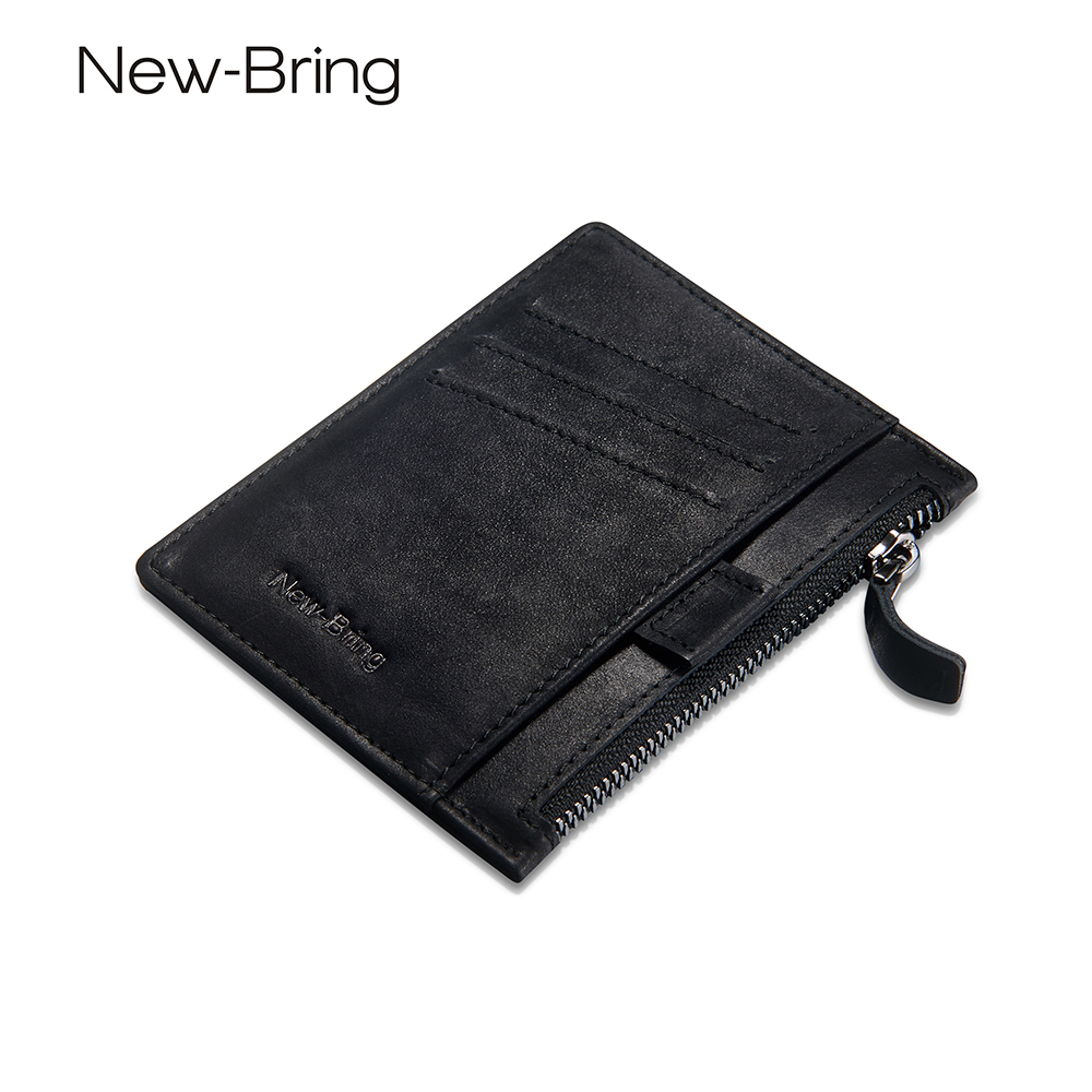 Card Wallet Male Purse Short with Multifunction Men