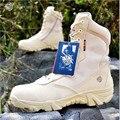 Армия США Тактический Комфорт Пустыни Сапоги Кожаные Боевые Военные Сапоги Мужские Механизм Походная Обувь