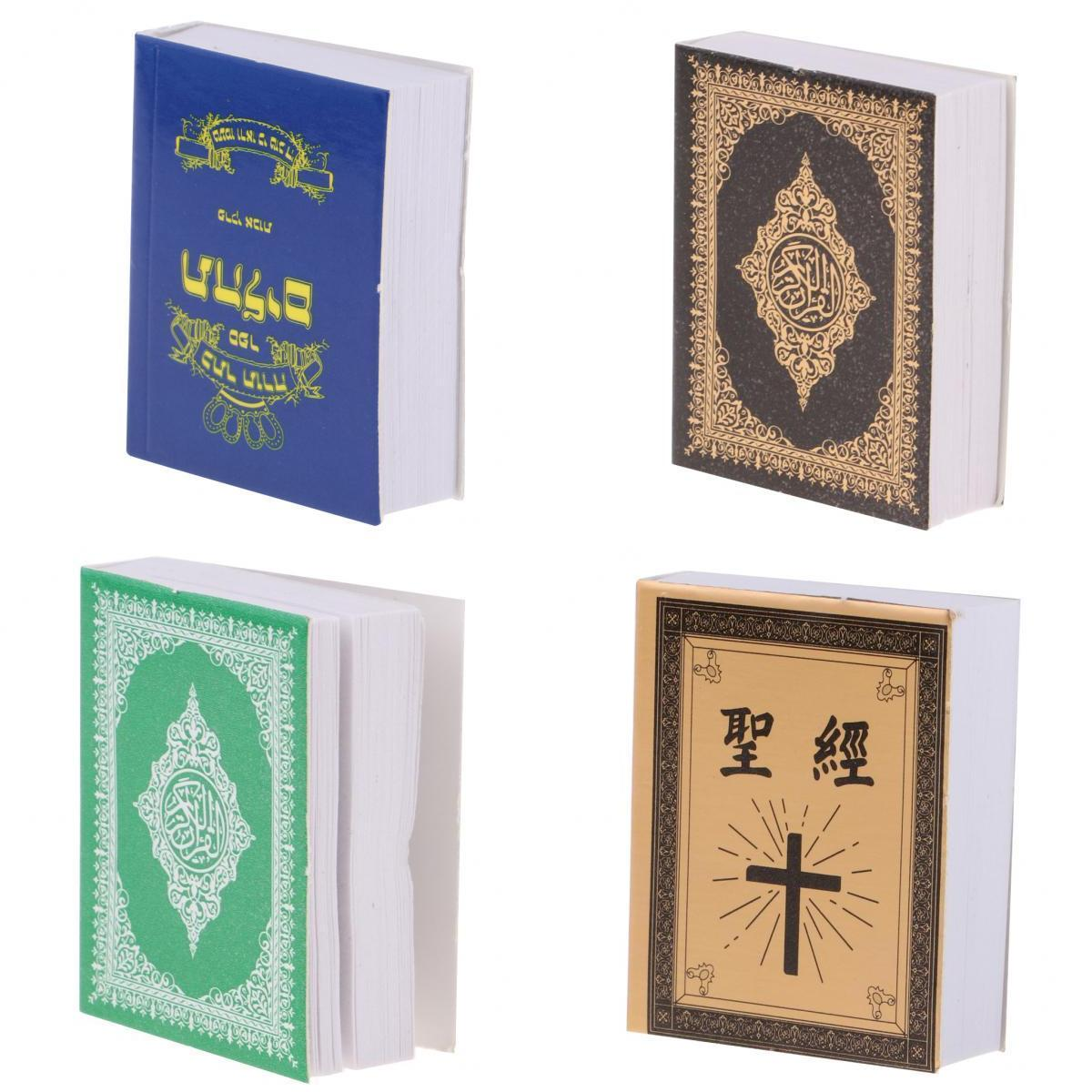 1//6 Holy Bible Book for 12inch Action Figures Dolls Reading Room Accessories