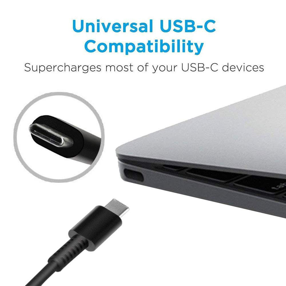 65W USB C Charger Type C Power Delivery PD Charger Adapter forLatitude 14 5480 7480 Power Supply Cord in Laptop Adapter from Computer Office
