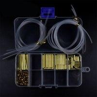 Tube Fly Tying System Combo Set 3mm Brass Tube Cones Liner Tube Junction Tube Salmon Steelhead