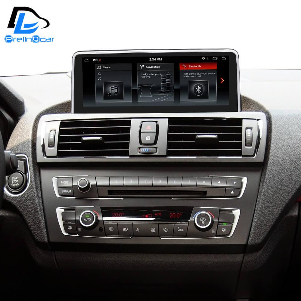 Android 8.1 8 core autoradio gps navigation multimédia pour BMW 1 série F20 2012-2018 ans CIC NBT EVO système lecteur dvd automatique