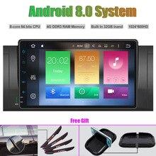 Восьмиядерный Android 8.0 Автомобильный мультимедийный плеер для BMW E39 (1995-2003) m5 (1995-2003) X5 (2000-2007) E53 (2000-2007