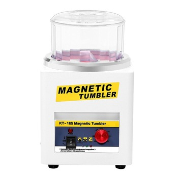цена на Manufacturer  KT-185 Magnetic Tumbler Jewelry Polisher Finisher Finishing Machine, Magnetic Polishing Machine AC 110V/220V