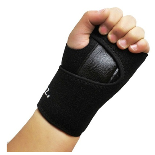 1Pc Removable Adjust Wristband Steel Wrist Brace Wrist Support Splint Fractures Carpal Tunnel Sport Hand Wristbands left