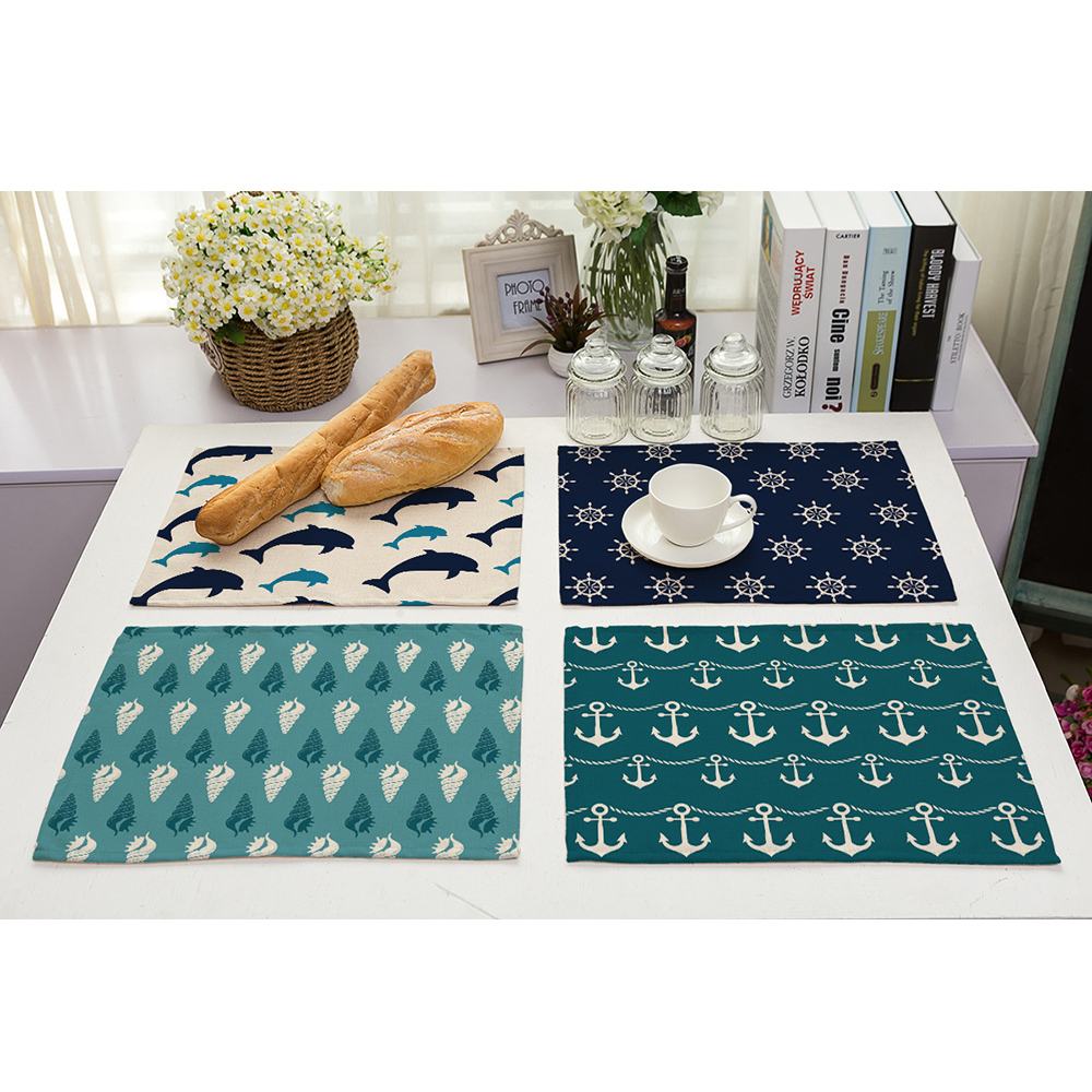 Nautical Themed Placemats (classic)