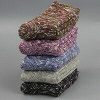 5 paia = 10 pezzi 2017 nuove donne maniche a vento asciugamano di spessore donne in calzini del tubo di modo caldo inverno calzini