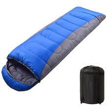 DSstyles утолщенная уличная спальная Сумка для кемпинга, подходящая по цвету спальная сумка для самостоятельного вождения, спальный мешок для кемпинга