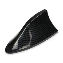 Автомобильная антенна плавник акулы сигнальные антенны для Ford VW BMW hyundai Benz Авто радио антенна имитация углеродного волокна антенны