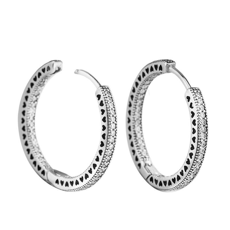 Authentic 100% 925 Sterling Silver Earrings for Women