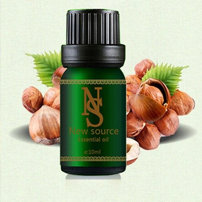 100% czysty roślinny olej bazowy olejki eteryczne pielęgnacja skóry olej z orzechów laskowych 10ML mydło wyrabiane ręcznie surowce trądzik ujędrniający JC22