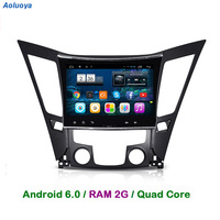 Quad Core Android 6 0 CAR DVD GPS Player For Sonata 8 YF I40 I45 I50