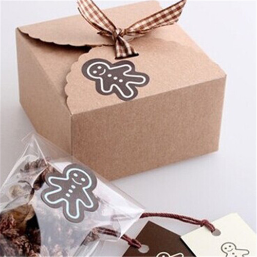 Christmas biscuit gift boxes rainforest islands ferry 10pcslot krafts gift boxes for biscuitsbrown christmas candy box mini cupcake negle Image collections