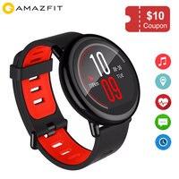 Оригинальный Huami Amazfit темп Smartwatch с GPS Bluetooth Wi Fi подключение Android и iOS совместимые Носимых устройств