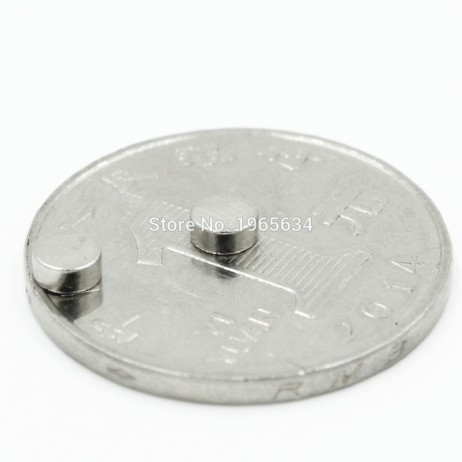 5000pcs Neodymium N35 Dia 4mm X 2mm Strong Magnets Tiny Disc NdFeB Rare Earth For Crafts