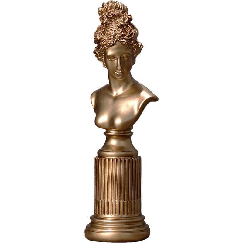 Nordic Resin Karakter Patung Venus Ornamen Retro Ukir Dewi Patung Dekorasi Kerajinan Belajar Di Rumah Sketsa Model Patung-patung